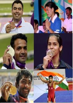 India's medal winners at London Olympics 2012