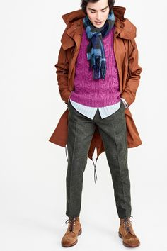 See the complete J.Crew Fall 2017 Menswear collection.