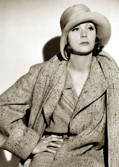 Greta Garbo. Read all about this lady here: http://classichollywoodcentral.com/?p=1136