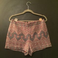 """Selling this """"Urban Outfitters Moroccan Knit Shorts"""" in my Poshmark closet! My username is: thebeesknees. #shopmycloset #poshmark #fashion #shopping #style #forsale #Urban Outfitters #Pants"""