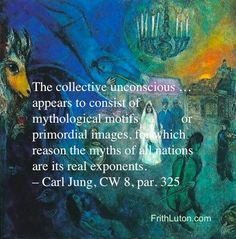 Jung derived his theory of the collective unconscious from the ubiquity of psychological phenomena that could not be explained on the basis of personal experience. Description from frithluton.com. I searched for this on bing.com/images