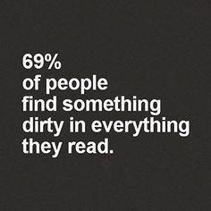 #statistics #dirtyminded