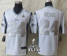 c4d771ca321 New England Patriots #24 Darrelle Revis 2015 Super Bowl XLIX Platinum White  Limited Jersey Cheap