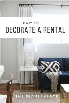 Are you a renter? There are things that you can do to personalize your space, even though you don't own it. Check out these ideas to decorate your temporary apartment.