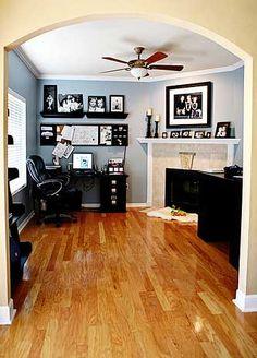 Santorini Blue Color Flickr Finds: capturingreallife's New Home Office