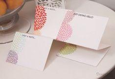 Precious Perforated Note Cards   AllFreePaperCrafts.com
