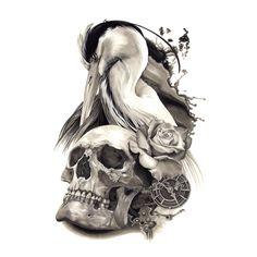 #copic #markers #copicmarkers #tattoo #tattooart #tattooartist #drawing…