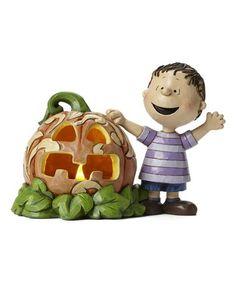 Look at this #zulilyfind! Peanuts The Great Pumpkin Lighted Figurine #zulilyfinds