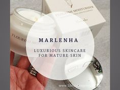 Marlenha, luxurious Italian skincare for mature skin. Review on the blog