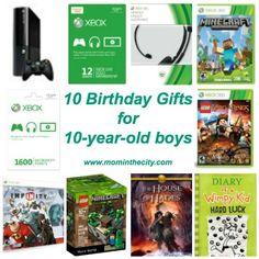 birthday gifts 10 year old boy