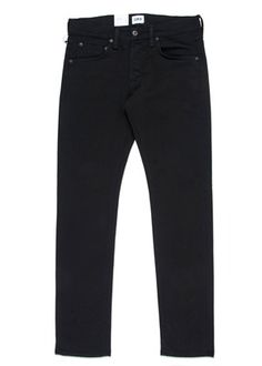 902dcc18fed ED-55 Regular Tapered Black Jeans