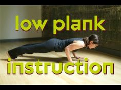Strengthen and tone every muscle - learn Plank Pose with Xen Strength Yoga's Danielle Diamond #breathesmilesweat www.xenstrength.com
