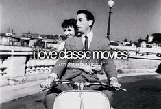 I love classic movies because they remind me of the days when things were so much easier than they are now