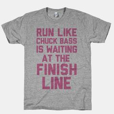Run Like Chuck Bass Is Waiting For You At The Finish Line | HUMAN. For Tori.
