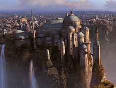 The Architecture of Star Wars: 7 Iconic Structures  | ArchDaily