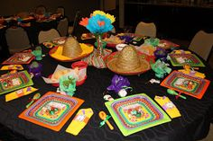 Mexican Fiesta Time! Ideas for a fun time fiesta style!