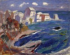 Redpath, Anne, (1895-1965), Erbalunga, Corsica, 1955, Oil