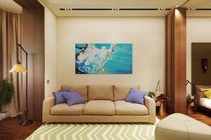 Otthon, édes otthon - modern 50 m2 lakás egy 3 fős családnak (3D látványterv) - Inspiráló otthonok Modern, Flat Screen, Spaces, Nice, Blood Plasma, Trendy Tree, Flatscreen, Nice France, Dish Display