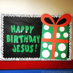 Project Idea!! What would jesus want for his birthday? Create a drawing and put it inside a present pocket craft!