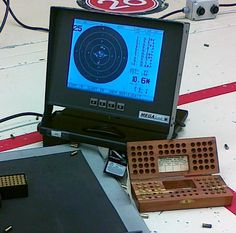 Electronic target and ammo block