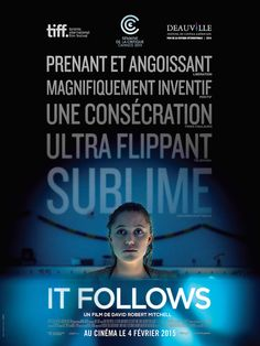[Film] It Follows de David Robert Mitchell - Maika Monroe / Affiche