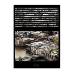 'Window View City of London 1' by Philippe Hugonnard Photographic Print on Wrapped Canvas