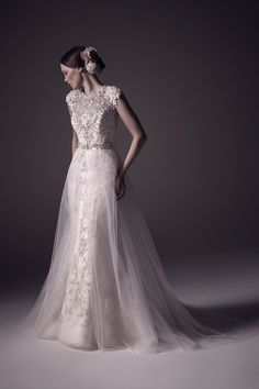 Wedding gown by Amaré Couture