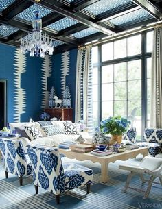 Great way to modernize an old room with style.