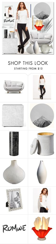 """Без названия #3064"" by ilona-828 ❤ liked on Polyvore featuring Moooi, Menu, Argento SC, Universal Lighting and Decor and romwe"