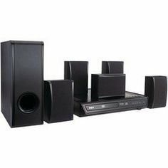 RCA Product-RCA RTD396 100-Watt DVD Home Theater System by RCA. $126.17. 100W. Dolby Digital 5.1 Surround Sound. Progressive scan video output, analog video output, aux audio input, front panel line-in jack, coaxial digital audio output & analog audio output. Includes remote & batteries. Plays DVD, DVD¡ÀR/RW, CD & CD-R/RW.