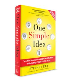 One Simple Idea: Turn Your Dreams Into a Licensing Goldmine While Letting Others Do the Work Tim Ferriss, Great Books, Bestselling Author, Productivity, Dreaming Of You, Success, Key, Dreams, Let It Be