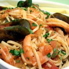 Seafood Marinara Pasta - Allrecipes.com