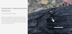 Original Xiaomi In-ear Hybird Earphones Pro Dynamic Balanced Armature Driver Volume Control