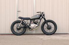 . Tracker Motorcycle, Scrambler Motorcycle, Cruiser Motorcycle, Scrambler Custom, Custom Cafe Racer, Cool Motorcycles, Vintage Motorcycles, Yamaha 125, Honda 125