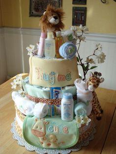 more diaper cakes diy_crafts