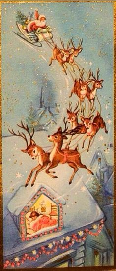 Reindeer Christmas Greeting