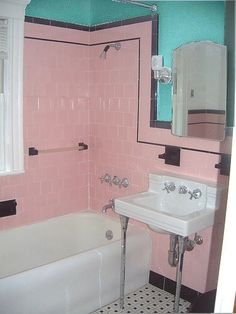 Pink, Grey & Aqua FAB
