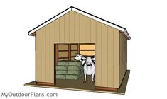 This step by step diy woodworking project is about free pole barn roof plans. This is PART 2 of the pole barn project. In this article I show you my take on building the trusses and how to complete the walls and roofing. Pole Barn Plans, Building A Pole Barn, Building A Shed, Wood Storage Sheds, Cabin House Plans, Garden Tool Shed, Free Shed Plans, Wooden Barn, Shed Doors