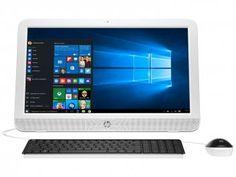 "Computador All in One HP 20-e002br Intel Dual Core - 4GB 500GB LED 19,45"" Windows 10"