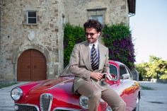 Giorgio Giangiulio - The Style Storyteller sulla  sua Alfa gira l'Italia con anche un po' del nostro ❤️ (Foto: Fabrizio Di Paolo Fotografo