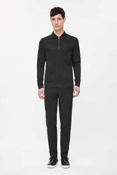 Zip-up tunic top £55