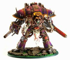 40k - Chaos Knight by Goatboy