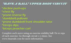Upper Body Circuit