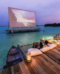 Movie projector in Maldives? Movie projector in Maldives? Vacation Places, Dream Vacations, Vacation Spots, Vacation Movie, Vacation Wear, Tourist Spots, Dream Dates, Destination Voyage, Beautiful Places To Travel