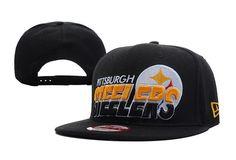 ef041e5c4fc984 NFL Pittsburgh Steelers Snapback New Era 9FIFTY Hats Black 5857|only US$8.90