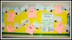 If You Give a Pig a Pancake...pattern freebie! Incorporates cause & effect plus compound words.