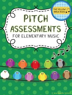 Quick and easy pitch assessments for elementary music.