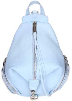 Rebecca Minkoff Julian Backpack In Light Blue Leather Sky Shop, Light Blue Color, Summer Collection, Leather Backpack, Fashion Backpack, Backpacks, Rebecca Minkoff, Bags, Purses