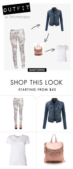 """Botín KATIE"" by visual-i on Polyvore featuring moda, Patrizia Pepe, LE3NO y T By Alexander Wang"