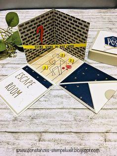 Escape Box, Escape Games, Crime, Magic Box, Life Lesson Quotes, Life Quotes, Paper Crafts, Diy Crafts, This Little Piggy